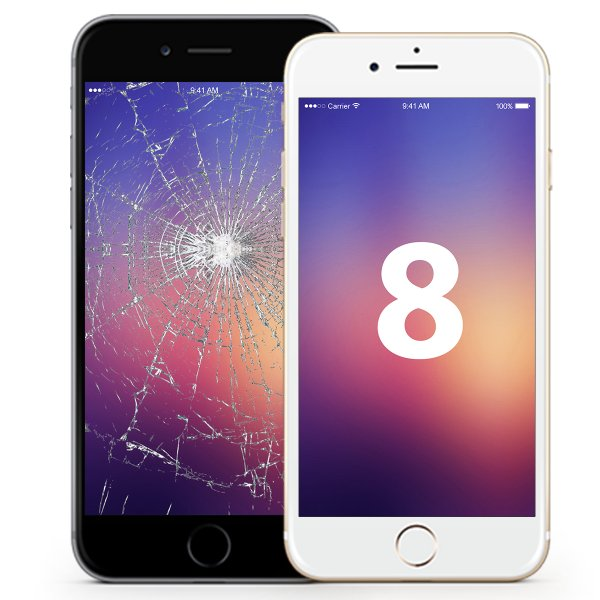 iPhone 8 Display Reparatur
