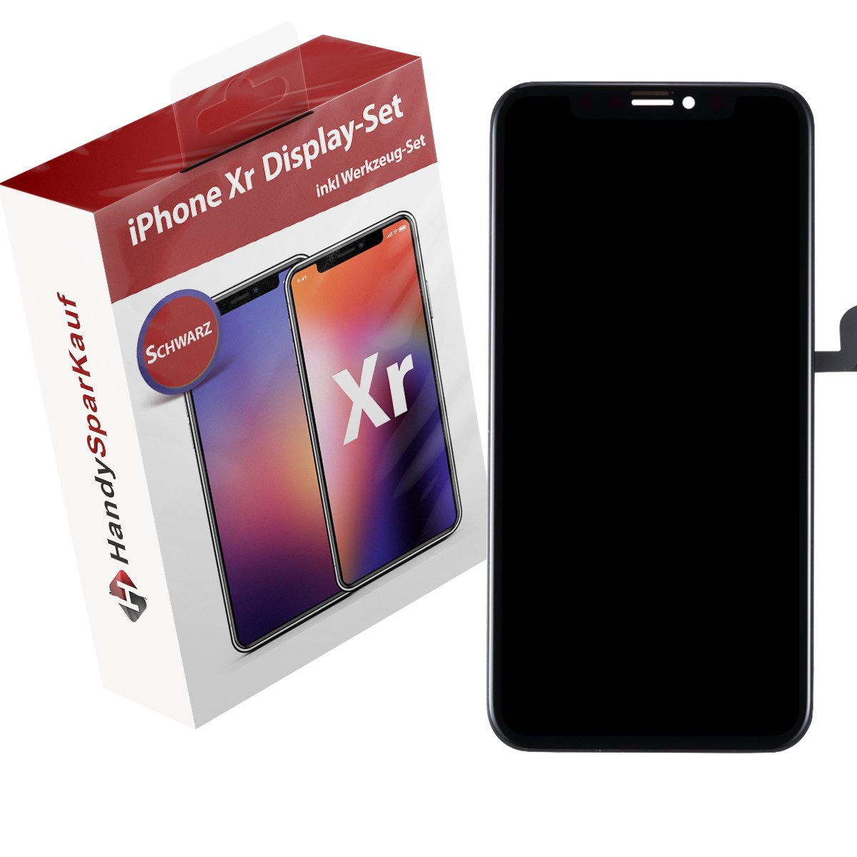 iPhone XR Display Schwarz